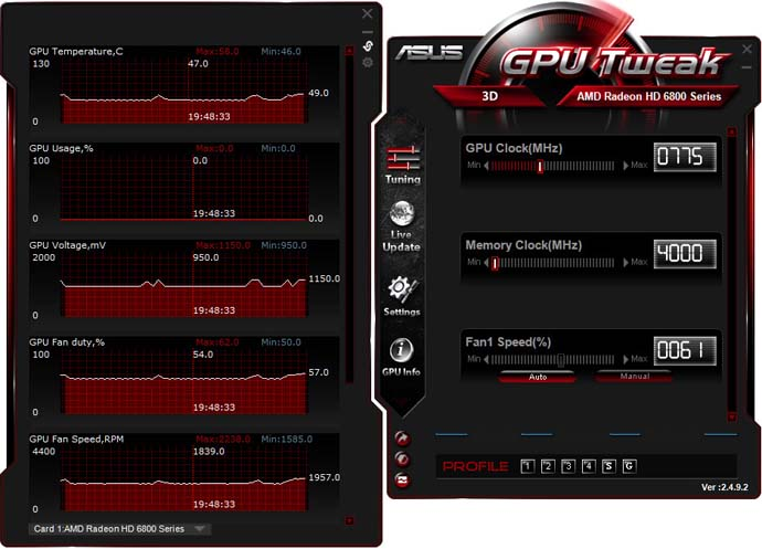Asus GPU Tweak 3.0 скачать