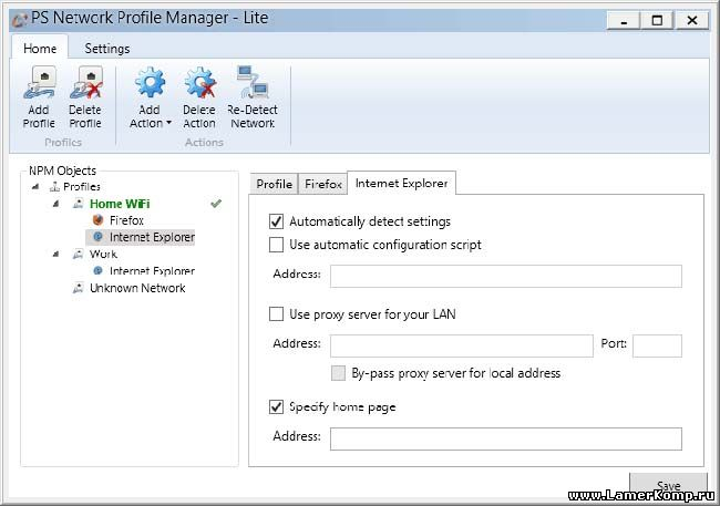 PS Network Profile Manager