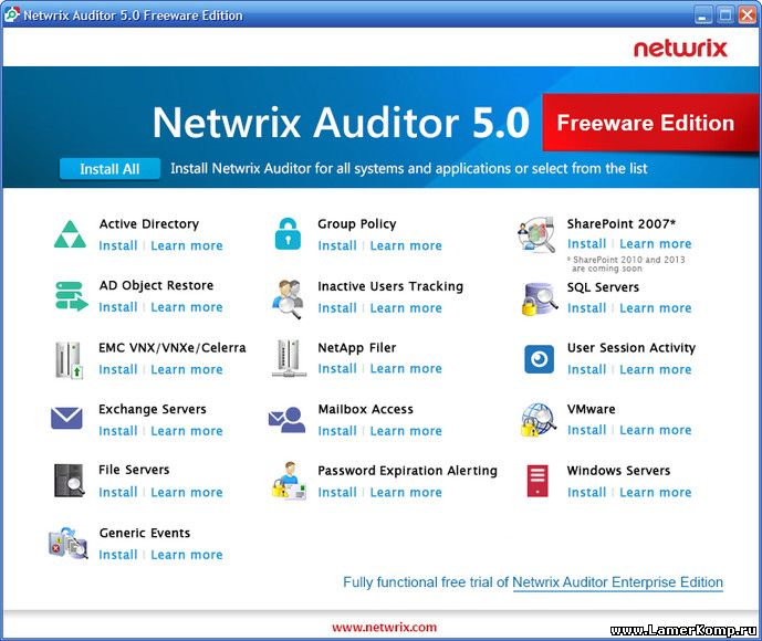 Netwrix Auditor Freeware Edition