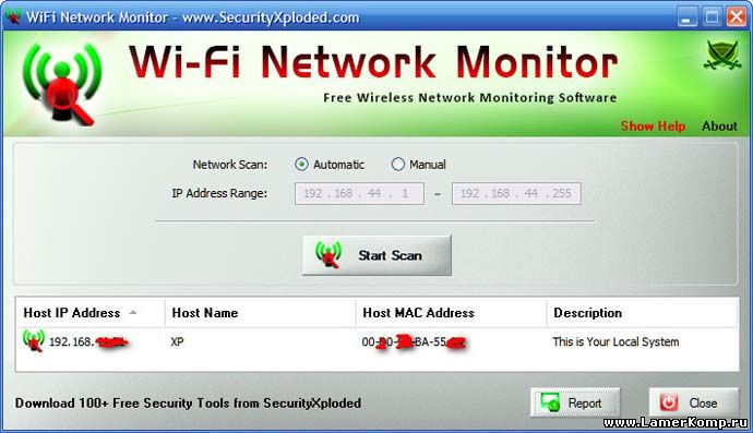 Wi-Fi Network Monitor