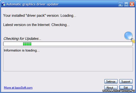 Automatic graphics driver updater