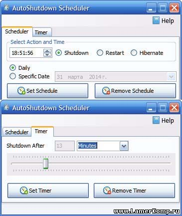 AutoShutdown Scheduler