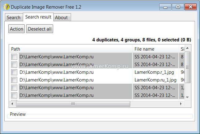 Duplicate Image Remover