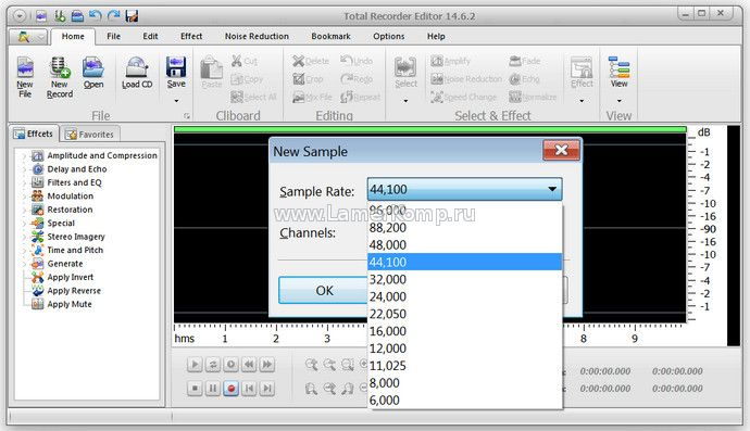 Total Recorder Editor