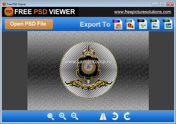 Free PSD Viewer