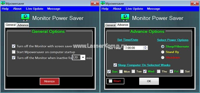 Monitor Power Saver