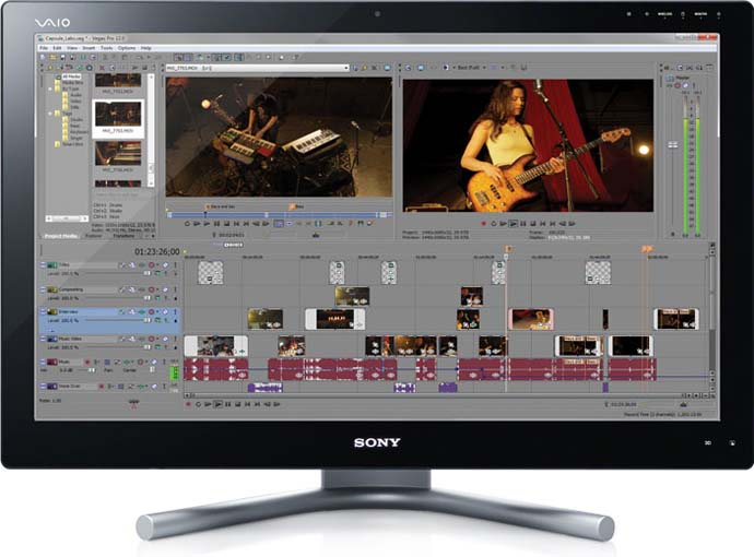 скачать программу для монтажа видео Sony Vegas Pro - фото 6